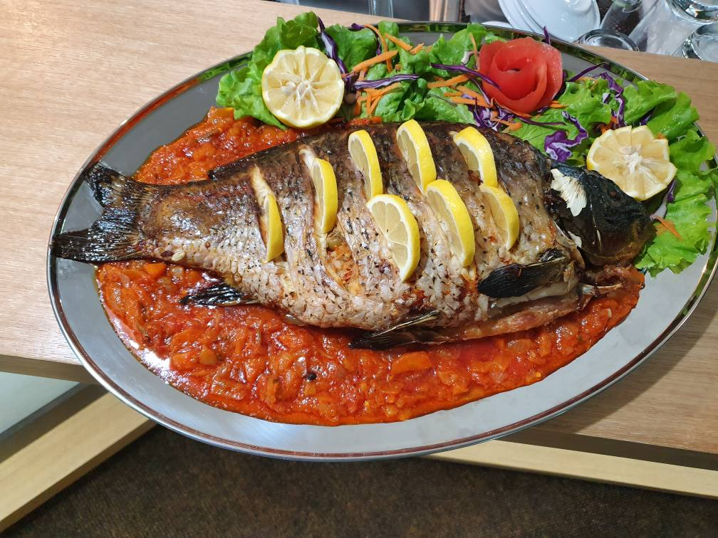 Fish from our lake - Spa Hotel Kremen