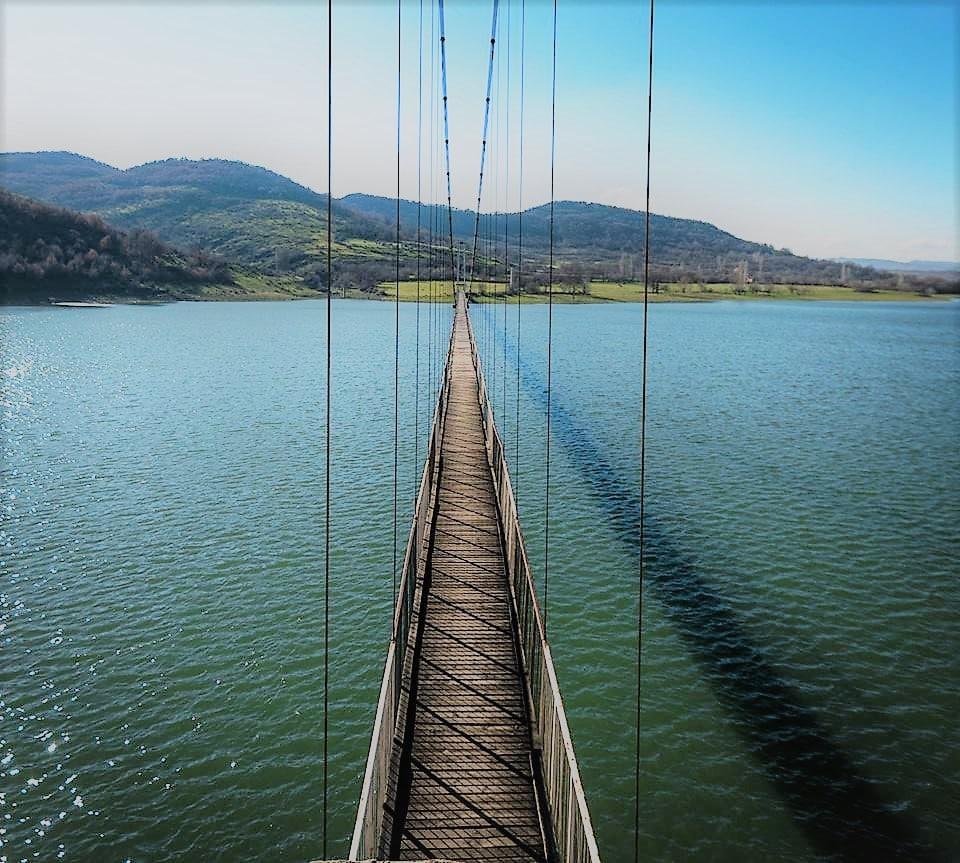 Въженият мост, с. Лисиците